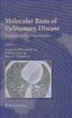 F McCormack - Molecular Basis of Pulmonary Disease
