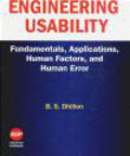 B Dhillon - Engineering Usability Fundamentals Applications