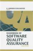 G Schulmeyer - Handbook of Software Quality Assurance 4e
