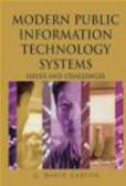 David Garson,G Garson - Modern Public Information Technology Systems
