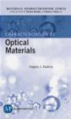 Gregory J. Exharos,C. Richard Brundle - Characterization of Optical Materials