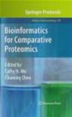 C Wu - Bioinformatics for Comparative Proteomics