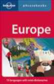 Lonely Planet - Europe Phrasebook 4e
