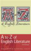 David Rothwell - A to Z of English Literature