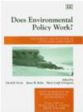 D Ervin - Does Environmental Policy Work?