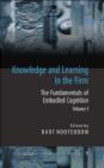 B Nooteboom - Knowledge and Learning in the Firm 2 vols