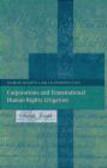 Joseph - Corporations & Transnational Human Rights Litigation