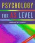 Michael Eysenck,M Eysenck - Psychology for As Level