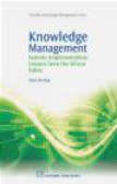 Hind Benbya,H Benbya - Knowledge Management Systems Implementation Lessons from th