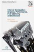 IMechE (Institution of Mechanical Engineers) - Internal Combustion Engines Conference