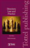 Lindsay McGregor,L Mcgregor - Directors Law and Practice