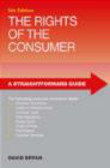 David Bryan,D Bryan - Straightforward Guide to the Rights of the Consumer