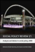 K Rummery - Social Policy Review 21