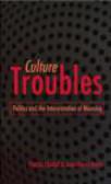 Patrick Chabal,Jean-Pascal Daloz,P Chabal - Culture Troubles