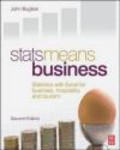 John Buglear - Stats Means Business