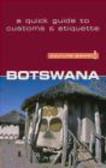 Michael Main,M Main - Botswana - Culture Smart