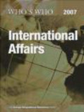 Who`s Who in International Affairs 2007