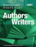 International Who`s Who of Authors & Writers 2007