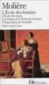 Moliere - L`Ecole des Femmes, l`ecole des Maris (1688)
