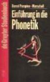 Bernd Pompino Marhall - Einfuhrung in die Phonetik