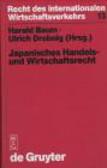 Harald Baem - Japanisches Handels & Wirtschaftsrecht