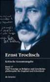 G Hubinger - Ernst Troeltsch Kritische Gesamtausgabe