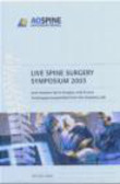 Reindl - Live Spine Surgery Symposium DVD