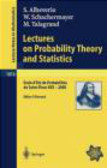 Sergio Albeverio,Michel Talagrand,Walter Schachermayer - Lectures on Probability Theory and Statistics