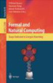 Brauer - Formal & Natural Computing Essays Dedicated to Grzegorz