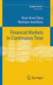 R Dana - Financial Markets in Continuous Time 2e