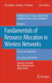 S Stanczyk - Fundamentals of Resource Allocation in Wireless Networks 2e
