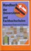 Handbuch der Universitaten & Fachhochschulen