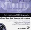 International Bibliography of Printed Music on CD-ROM