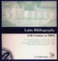 Latin Bibliography 15th Century to 2001 (CD-Rom)