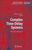 Fatihcan M. Atay,F Atay - Complex Time-Delay Systems