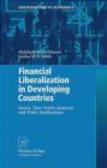 Sardar Islam,Abdullahi Dahir Ahmed,Sardar M.N. Islam - Financial Liberalization in Developing Countries