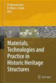 Maria Bostenaru Dan - Materials in Historic Structures