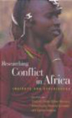 Porter - Researching Conflict in Africa