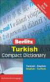 Turkish Berlitz Compact Dictionary