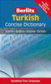 Turkish Berlitz Concise Dictionary