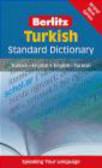 Turkish Berlitz Standard Dictionary