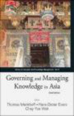 Thomas Menkhoff - Governing and Managing Knowledge in Asia
