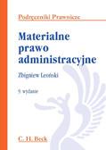 Zbigniew Leoński - Materialne prawo administracyjne