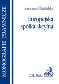 Katarzyna Niedzielska - Europejska spółka akcyjna