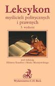 Mirosław Sadowski, Tomasz Scheffler, Marek Maciejewski - Leksykon myślicieli politycznych i prawnych