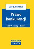 Igor B. Nestoruk, Marian Kępiński - Prawo konkurencji. Pytania. Kazusy. Tablice