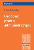 Wojciech Maciejko - Osobowe prawo administracyjne