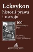 Tadeusz Maciejewski - Leksykon historii prawa i ustroju