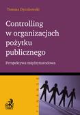 Tomasz Dyczkowski - Controlling w organizacjach pożytku publicznego