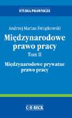 Andrzej Marian Świątkowski - Międzynarodowe prawo pracy. Tom II Międzynarodowe prywatne prawo pracy
